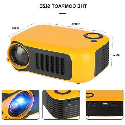 Mini Portable HD 1080p Theater Port