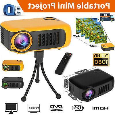 mini portable led full hd 1080p projector