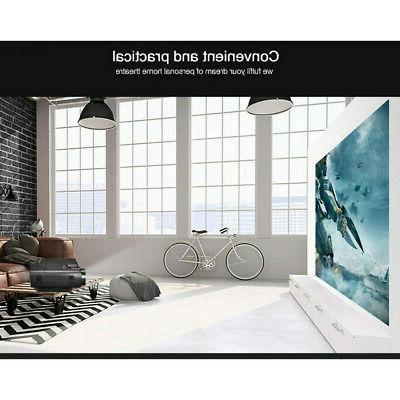 Mini Portable Multimedia Projector Full HD 1080P Theater