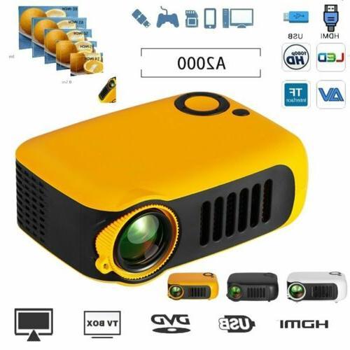 1080p hd portable mini projector home theater