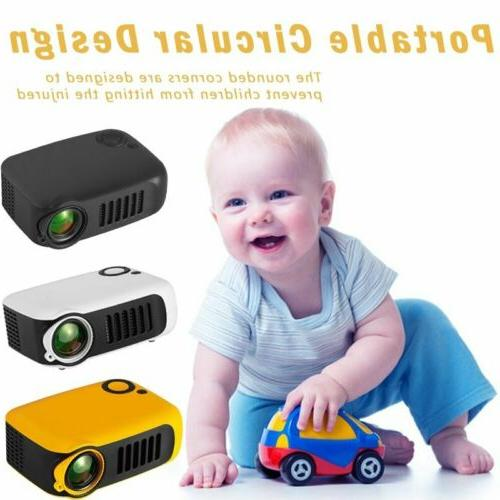 1080P HD Projector Home Theater Movie 3D HDMI USB