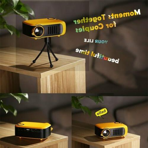 Mini Pocket Projector HD 1080P Movie Video