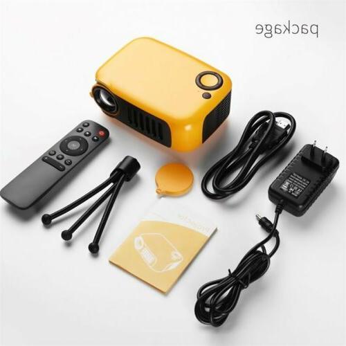 1080p Full HD LED Portable Projector Home Theater AV USB
