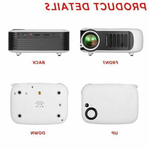 1080p Full HD Portable Projector AV