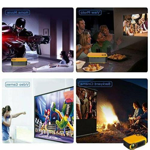 HD 1080P Movie Projectors Home Theater