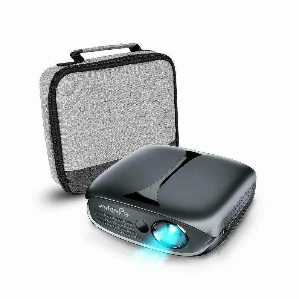 Mini Projector Wi-Fi Portable Pico Home Theater 3D/1080P/HDM