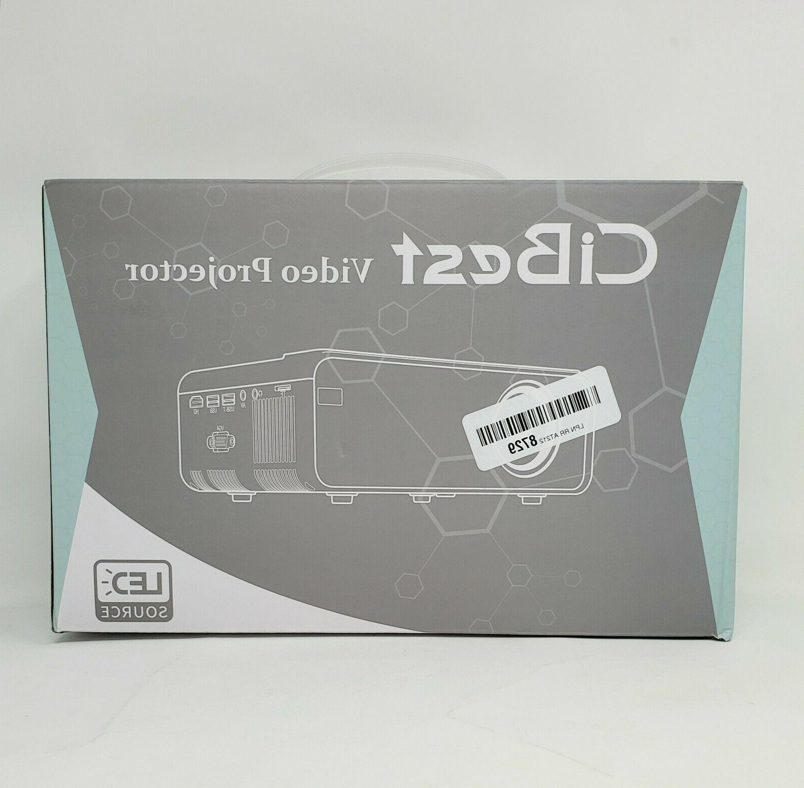 mini projector video projector 4200 lumens up