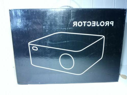 mini projector white