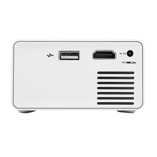Mini YG300 1080p AV, Card, HDMI Theatre