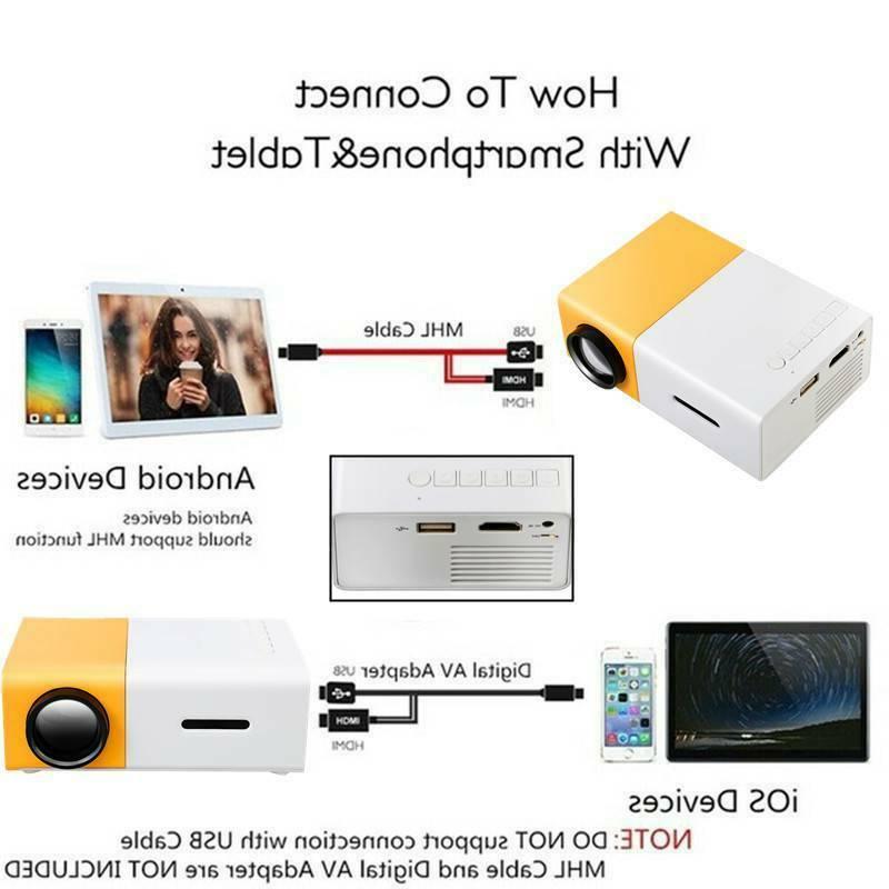Portable projectors projector 1080P