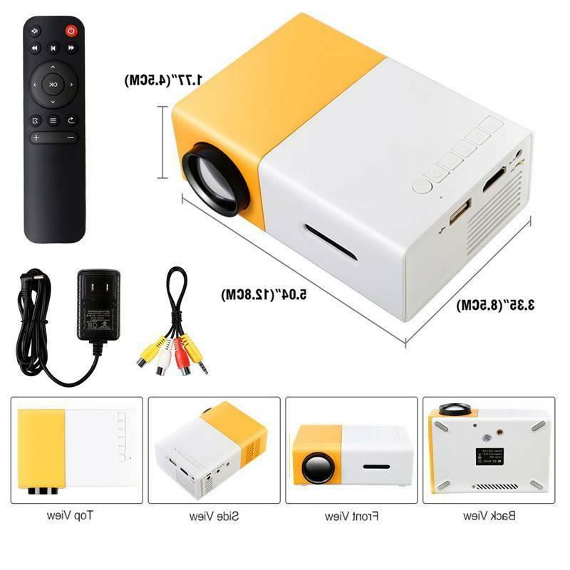 Portable projectors proyector 1080P USB SD