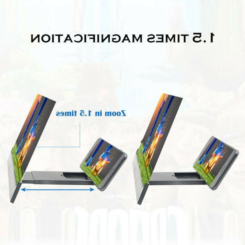 Mobile Screen Magnifier Video Stand Holder