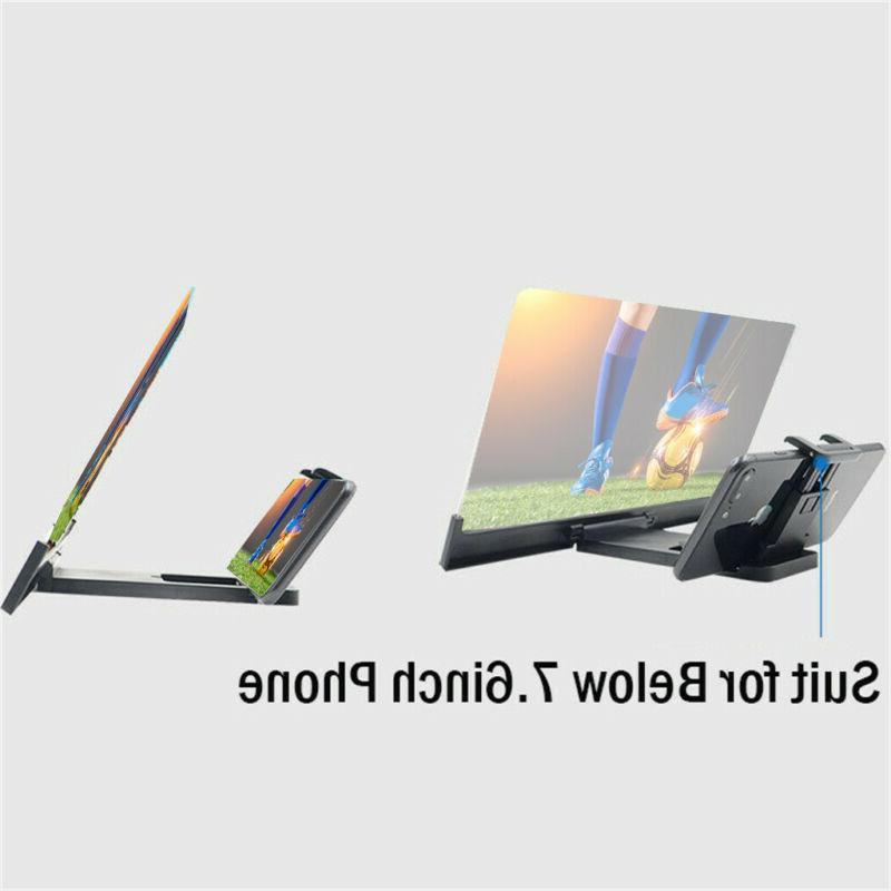 Mobile HD Screen Magnifier Stand Bracket