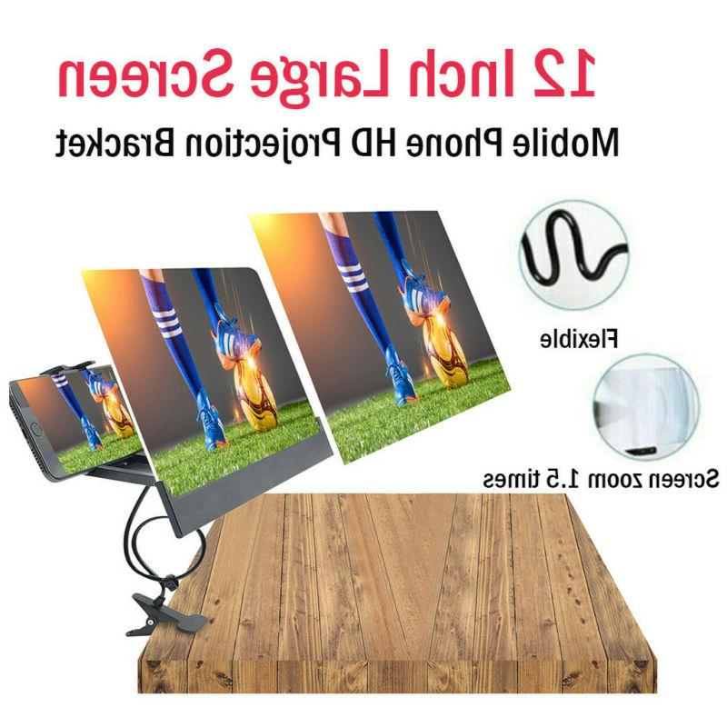 mobile phone hd projection screen magnifier video