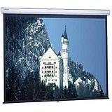Da-Lite Model C High Contrast Matte White Manual Projection