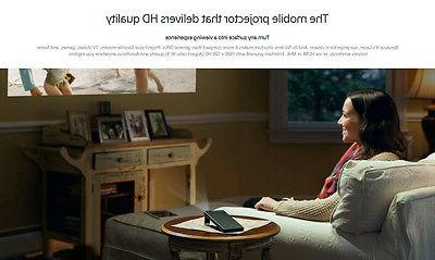 Sony Mobile Projector HD Wi-Fi HDMI Gold