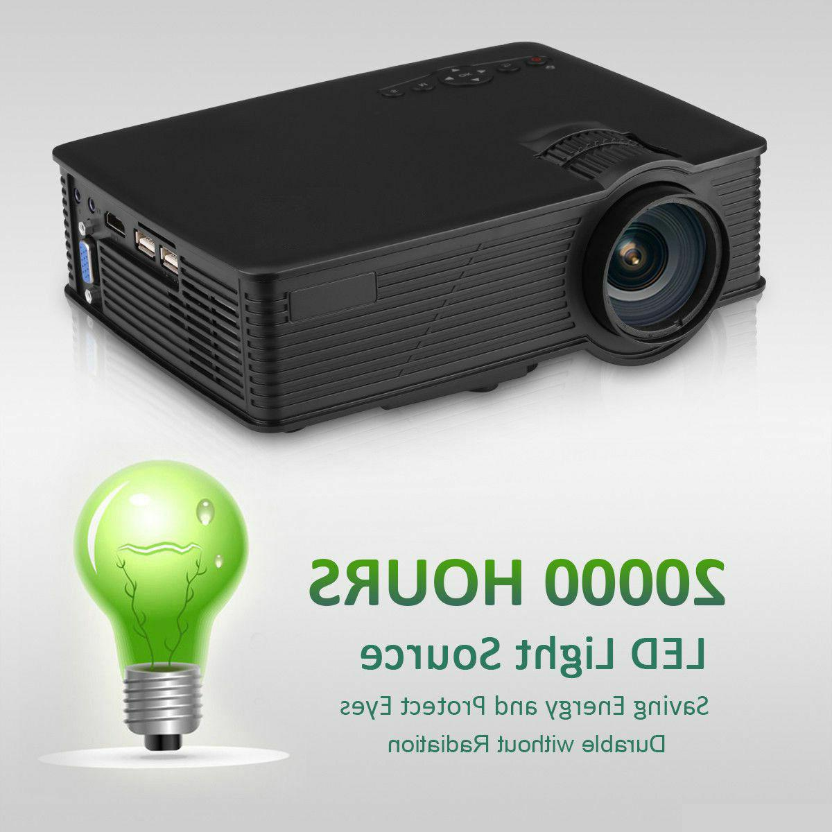 Multimedia Lumens Home Projector USA