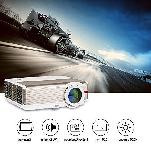 wxga resolution projector home movie