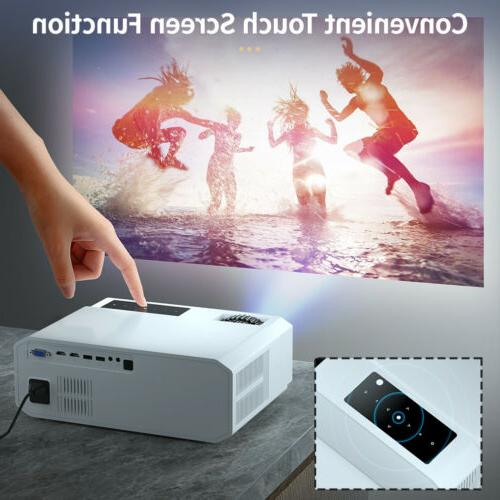 Crenova 1080P Projector Home Theater with