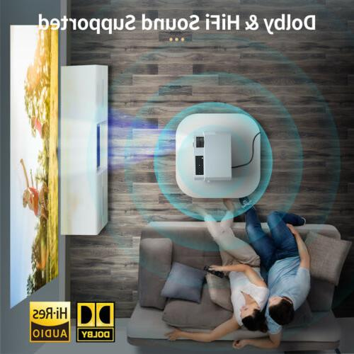 Crenova Projector Theater Compatible with