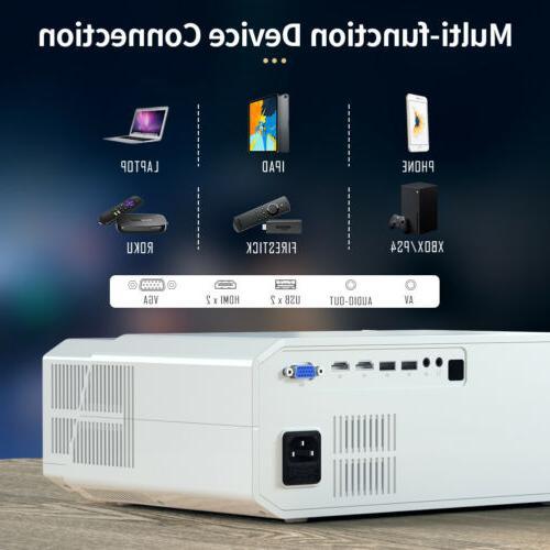 Crenova Projector Compatible with
