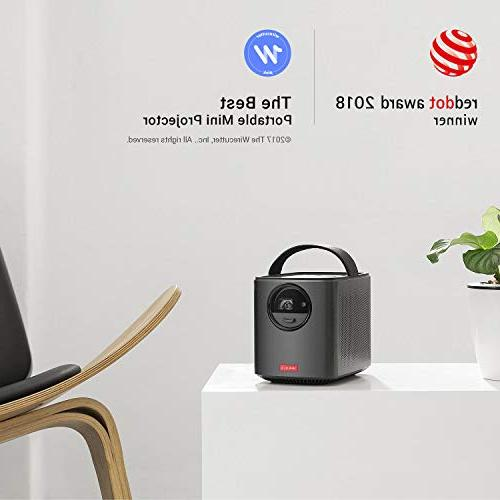 Nebula, by II 300 ANSI Portable Projector with Android 7.1, 30-150'' 4-Hour Playtime, Casting