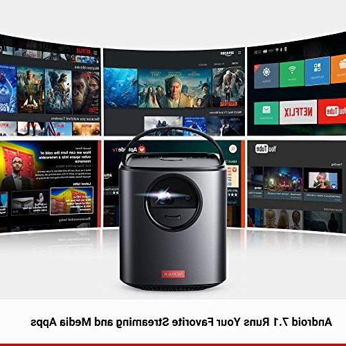 Nebula, II 300 Portable with DLP Picture, 10W Android Autofocus, 30-150'' Screen, 4-Hour Broad and