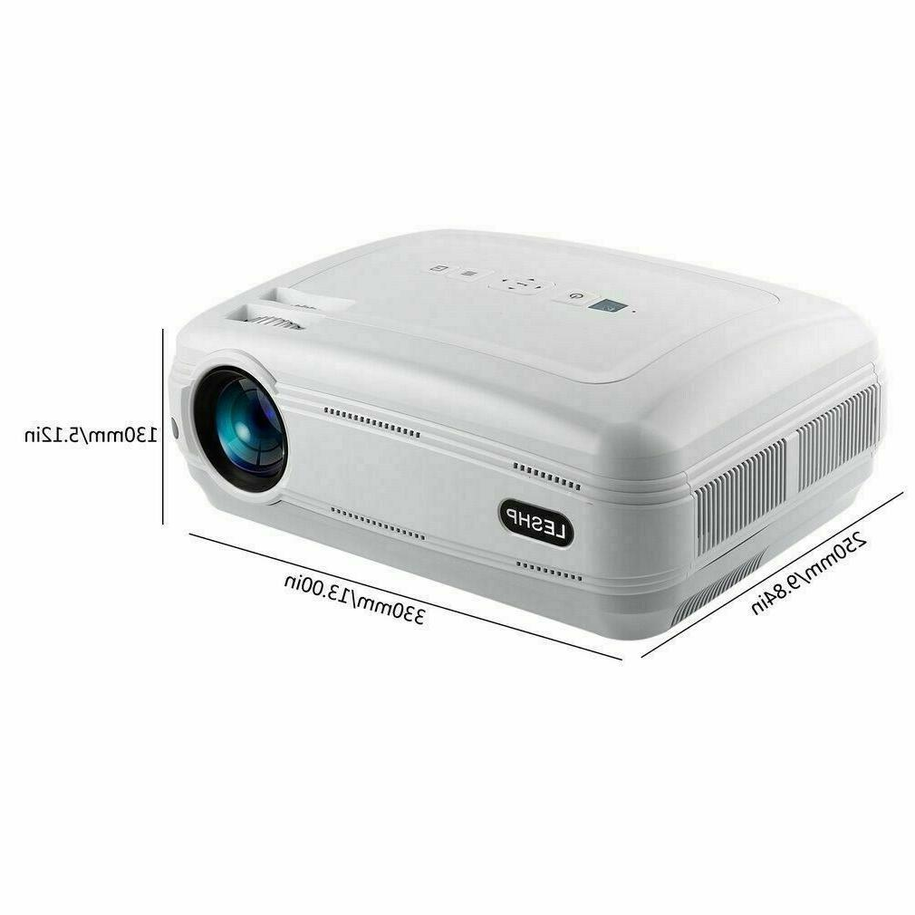 New 3D Lumens Full HD 1080P Projector Home Theater