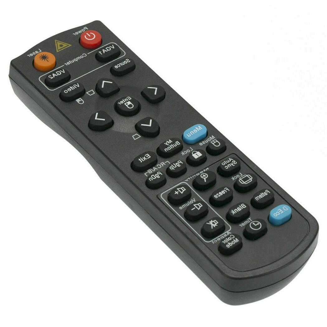 New Replace Remote for ViewSonic PJD5234L PJD7382 PJD6223 PJ
