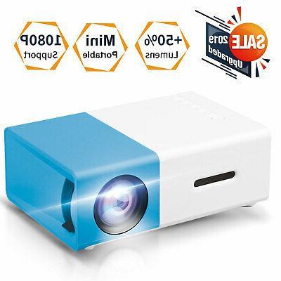 Mini HD 1080p LED Projector Home Cinema