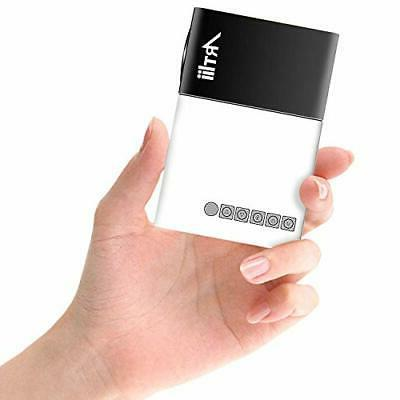 Pico Projector Mini Projector Compatible with Laptop Smartph