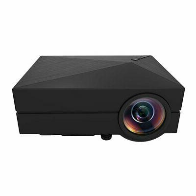 Portable 7000 Lumens 1080P 3D Projector LED Home Theater HDMI USB