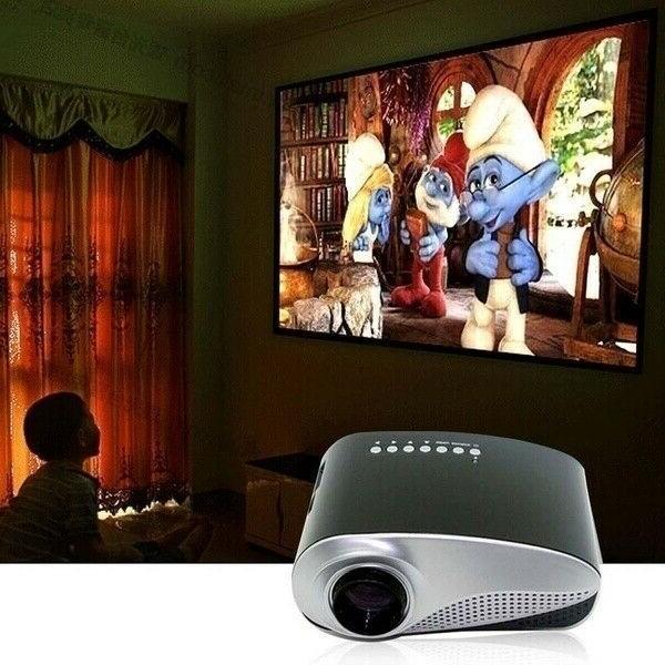 Portable HD 1080P 3D LED Theater USB
