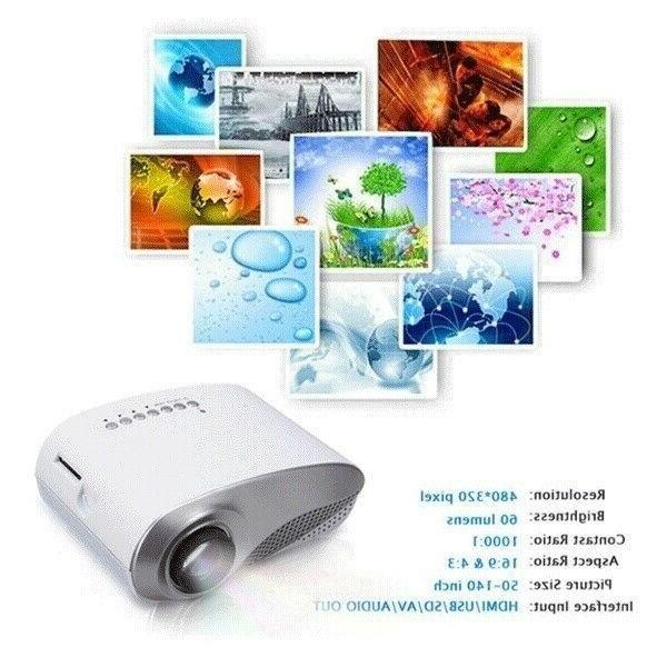 Portable 7000 1080P LED Home USB