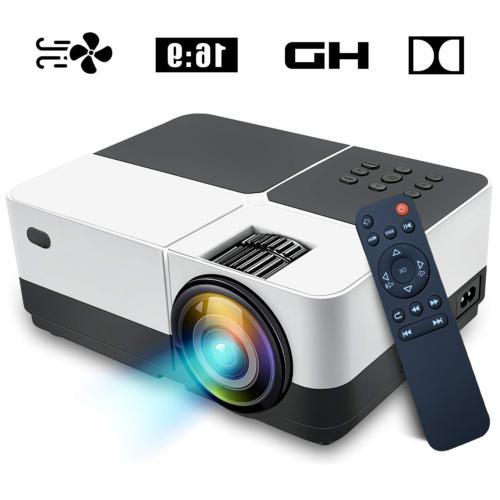 Portable LED Theater 2500 Lumens Video Games Support
