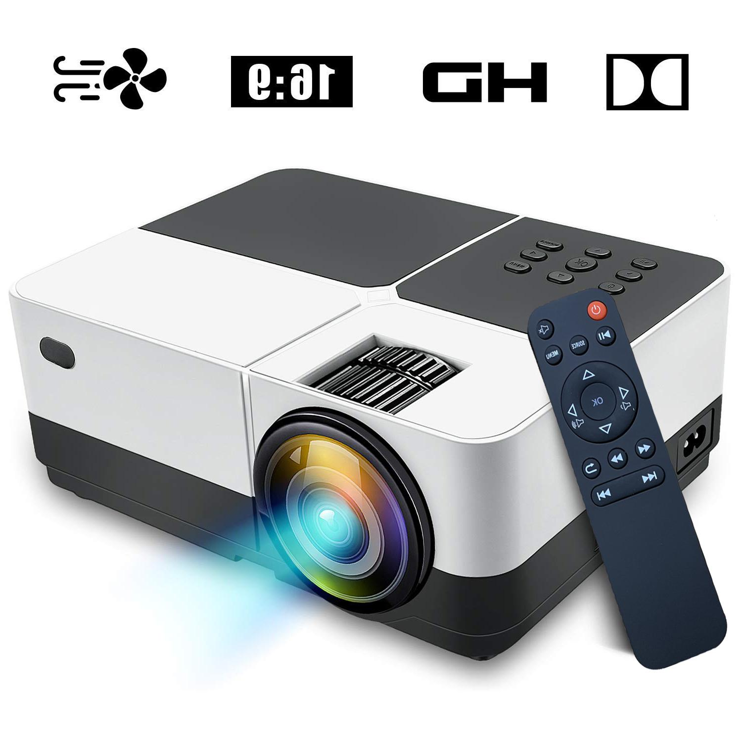 Portable Projector Movie Video Support 2500