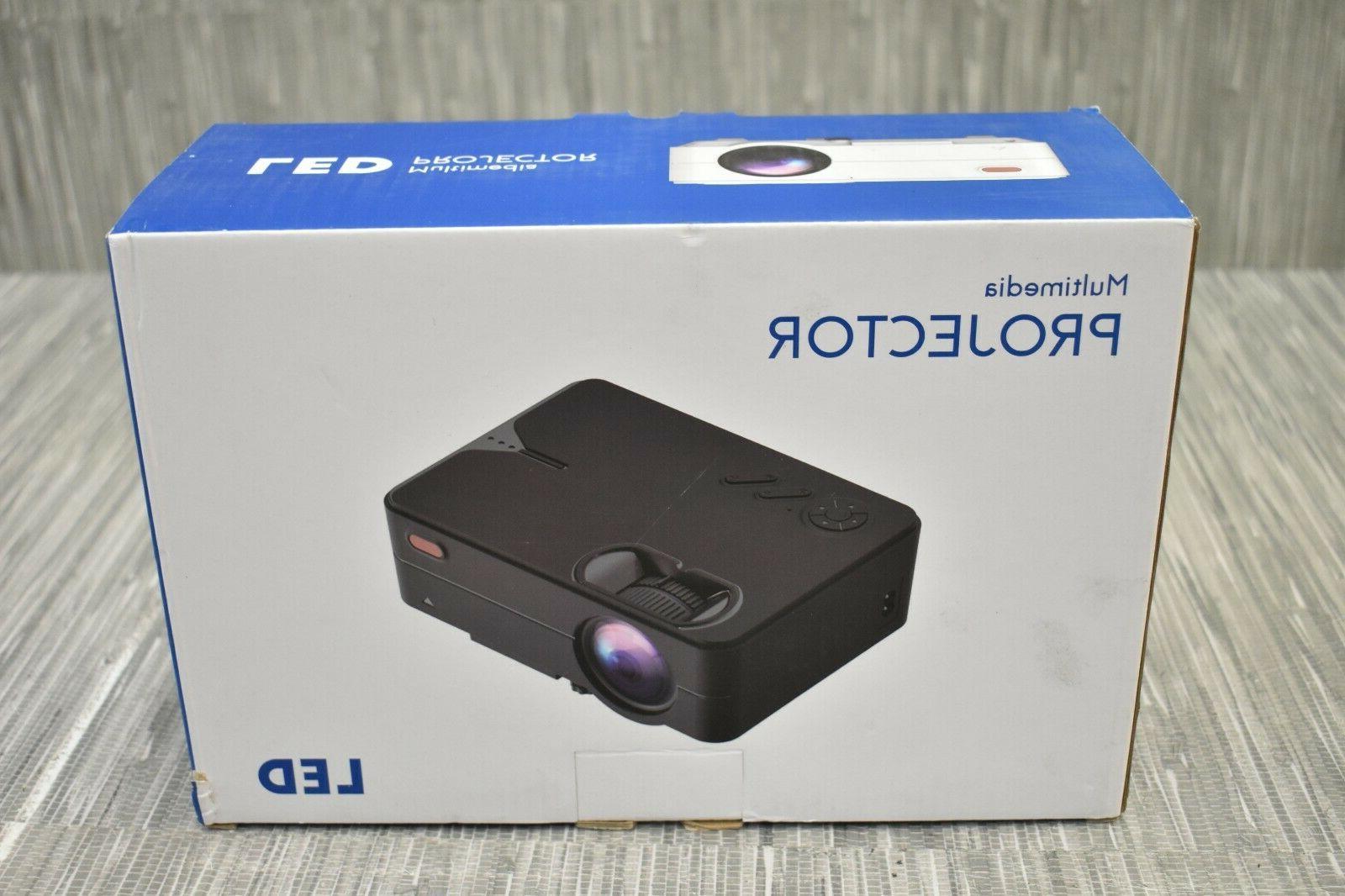 portable mini 1080p high definition multimedia projector