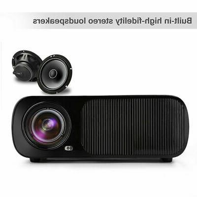 3D Projector LED LCD Multimedia Home HDMI
