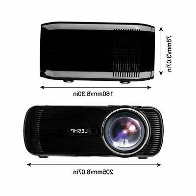 3D Projector LED LCD Home HDMI VGA AV