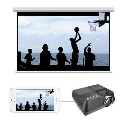 Portable Projector HD 1080P Home Theater Video Movie 3D HDMI USB
