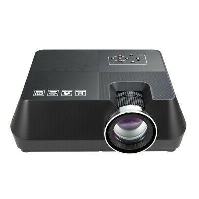 Portable Mini HD 1080P Home Theater Video Movie Game HDMI