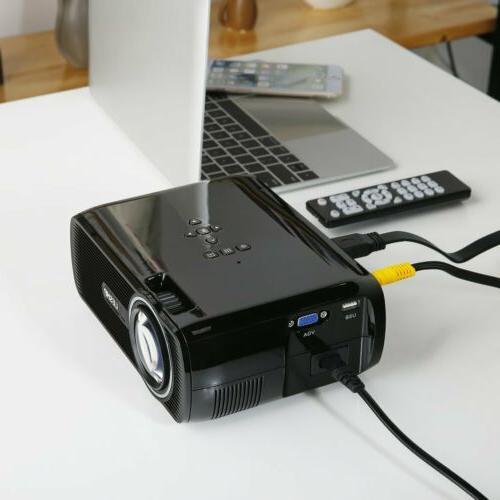 Portable Mini 1080P Movie HDMI USB