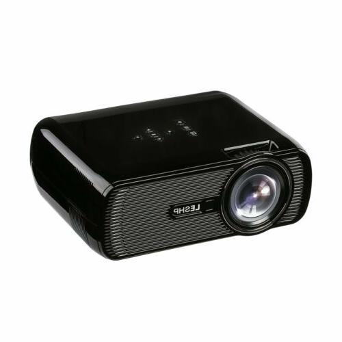 Portable Mini Projector 1080P Movie Game HDMI
