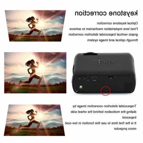 Portable Mini HD 1080P Home Theater Movie HDMI