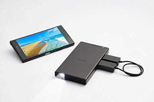 Sony MP-CD1 Portable , DLP, 5000mAh Built-in Battery, Built-in Speaker, 480