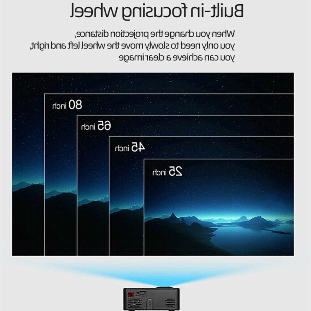 Full HD LCD Projector Home Cinema