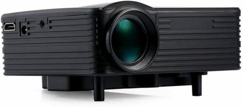 Portable 1080P Home Cinema USB US