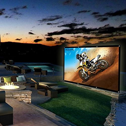 Portable Inch TV, Presentation for Outdoor Screen. 4K and 8 GIFT