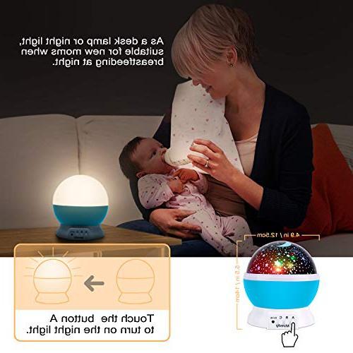 Projection Light Night Lighting Lamp Projector Lamp Children Kids