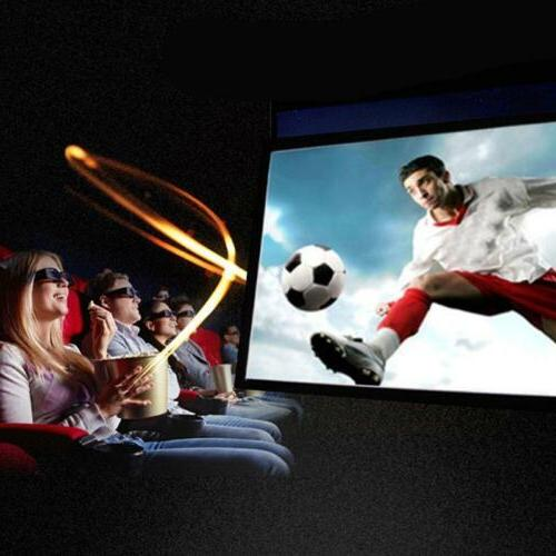 projection screens portable hd projector for home